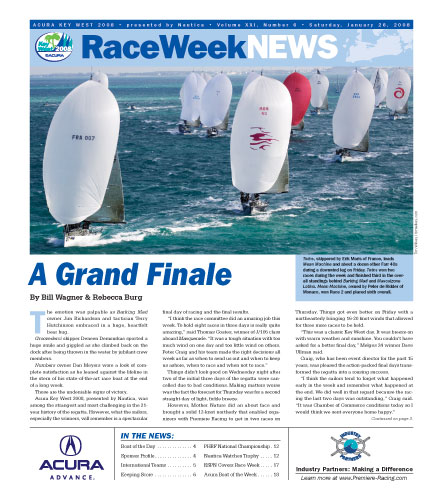 Acura Key West Race 2008 - Race Week News - Day 5