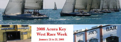Acura Key West Race 2008 - Sailing World banner