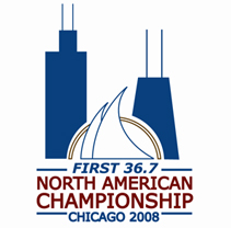 2008 Beneteau 36.7 North American Championship - Chicago - logo - www.sailfastchicago.com