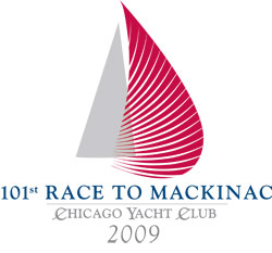 Chicago to Mackinac sailboat race logo - www.sailfastchicago.com
